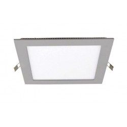 Downlight panel LED Cuadrado 120x120mm Gris 6W