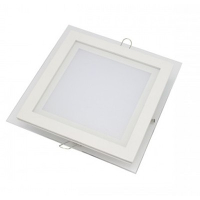 Downlight panel LED Cuadrado 200x200mm Cristal 16W