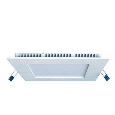 Downlight panel LED Cuadrado 240x240mm Blanco 20W
