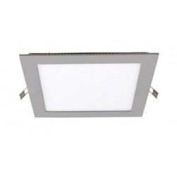 Downlight panel LED Cuadrado 205x205mm Gris 25W