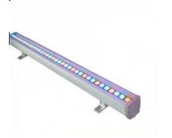 Foco LED exterior bañador pared lineal 24W 1000mm RGB