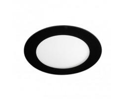 Downlight panel LED Redondo Negro 170mm 12W