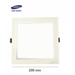 Downlight panel LED Cuadrado 205x205mm Blanco 25W SAMSUNG