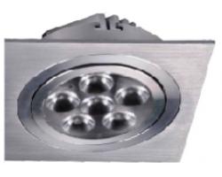 Foco Downlight Square empotrar LED 18W Blanco Frío