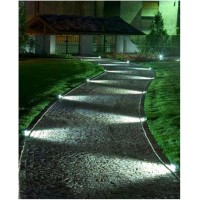 Focos y apliques superficie led for Iluminacion caminos jardin