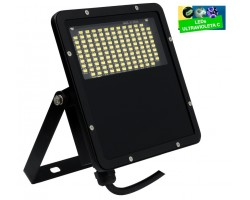 Foco Proyector LED exterior Slim Negro NEO TEK 25W IP65 UV Desinfectante