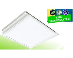 Lumiaria LED 600X600mm 30W UV desinfectante