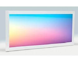 Panel LED 300X600mm 25W Marco Blanco RGB