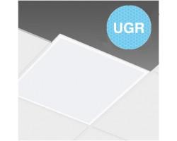 Panel LED Eco 600X600mm 40W Marco Blanco UGR<19