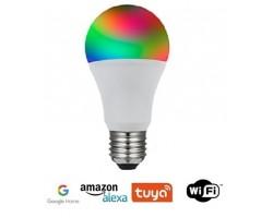 Lámpara LED Standard E27 9W SMART Wifi, para Smartphone y control voz