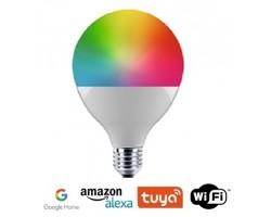 Lámpara LED Globo 95mm E27 13W SMART Wifi, para Smartphone y control voz