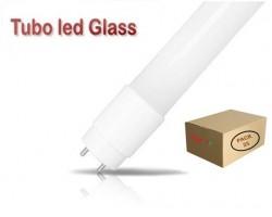 Tubo LED T8 600mm Cristal ECO 9W Blanco Frío, conexión 1 lado, Caja de 25 ud x 2,65€/ud