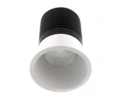 Foco Downlight LED COB fijo Redondo Blanco Ø40mm 3w Konic