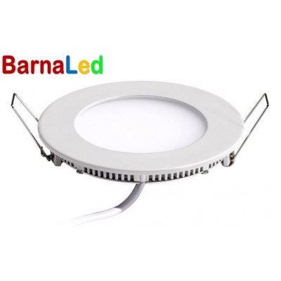 Downlight panel LED Redondo 120mm Blanco 6W