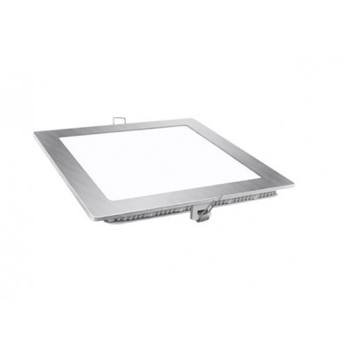 Downlight panel LED Cuadrado 170x170mm Niquel 13W 1130lm