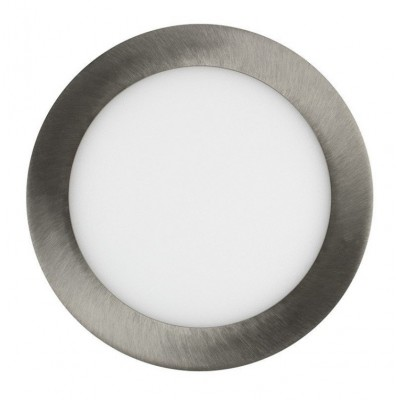 Downlight panel LED Redondo 225mm Niquel 18W