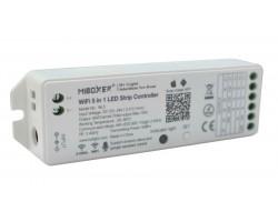 Receptor Controlador Monocolor, RGB, RGBW, CCT, RGB+CCT, Wifi, Control por voz ó remoto