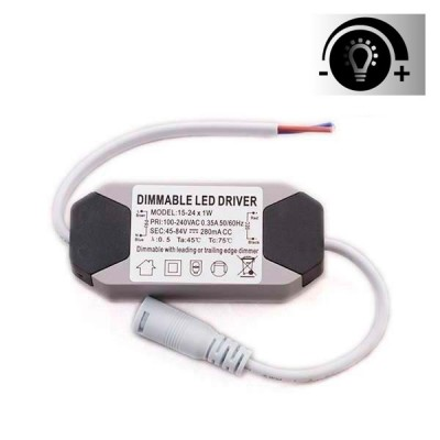 Driver Regulable para Downlight Panel LED de 15W a 24W