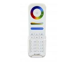 Mando Controlador RF Monocolor, RGB, RGBW, CCT, RGB+CCT. hasta 8 zonas