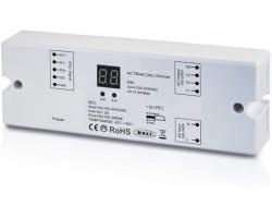 Regulador TRIAC DALI para LED 100-240V 2 canales 2 dirección 240-576W