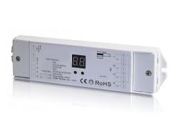 Receptor Controlador DALI para tira LED Monocolor, RGB y RGBW 12-36V 4 canales 1 dirección 240-720W