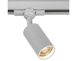 Foco Carril trifasico LED Blanco, Lámpara GU10