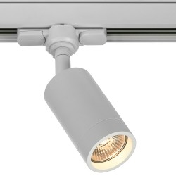 Foco Carril trifasico LED Blanco, Lámpara GU10