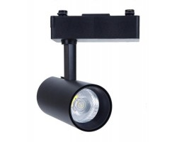 Foco Carril STAR Bifásico LED COB 15W 24º Negro