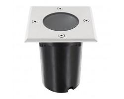 Foco LED exterior Cuadrado IP67 empotrar para GU10