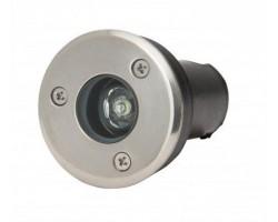 Foco LED exterior IP67 empotrar 1W