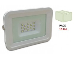 Foco Proyector LED exterior Slim Blanco NEOLINE Class 10W IP65 SMD, Caja 10ud x 2,4€/ud