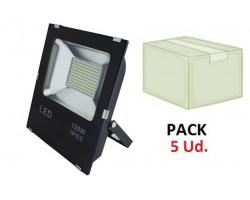Foco LED exterior SLIM 100W IP66 SMD P5
