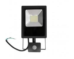 Foco LED exterior SLIM 20W IP-65 SMD con Detector de Movimiento