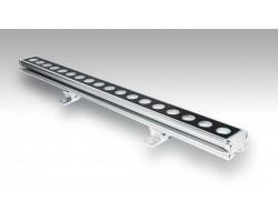 Foco LED exterior bañador pared lineal 18W 1000mm