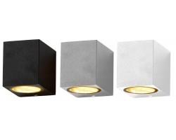 Aplique LED exterior IP44 superficie pared Q 1xGU10