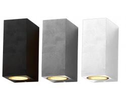 Aplique LED exterior IP44 superficie pared Q 2xGU10