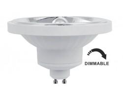 Lámpara LED AR111 GU10 14W 10º 1140lm CRI90 Regulable