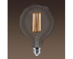 Lámpara LED Globe G150 Clara E40 8W Filamento Zig-Zag 2200ºK Regulable