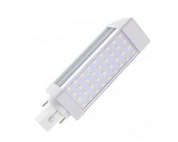 Lámpara LED PL G24 700LM 7W SMD2835
