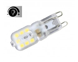 Lámpara LED G9 2,5W Regulable