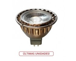 Lámpara LED GU5,3 MR16 COB 3W