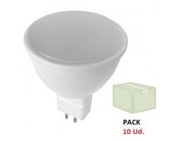 Lámpara LED GU5,3 MR16 SMD 5W 110º, Caja de 10 ud x 1,60€/ud