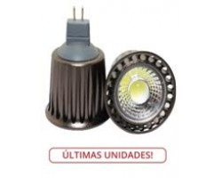 Lámpara LED GU5,3 MR16 COB 5W