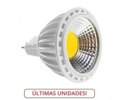 Lámpara LED GU5,3 MR16 COB 5W Blanco Frío