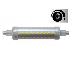 Lámpara LED R7s 118mm diámetro 24mm 230V 10W 950Lm Regulable
