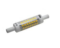 Lámpara LED R7s 78mm diámetro 14mm 230V 5W 480lm