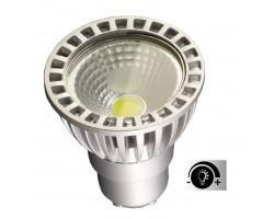 Lámpara LED GU10 COB 4W 50º Regulable