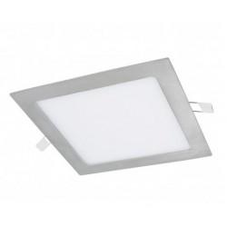 Downlight panel LED Cuadrado 190x190mm Gris Plata 15W