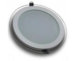 Downlight panel LED Redondo 100mm Cristal 6W