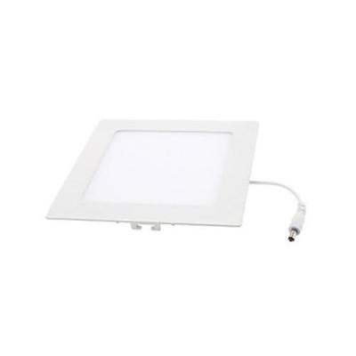 Downlight panel LED Cuadrado 120x120mm Blanco 6W